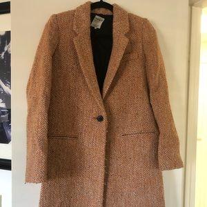 Zara Wool Rustic Winter Coat